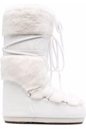 Moon Boot Mujer Botas y Botines - Botas para nieve con ribete de pelo artificial