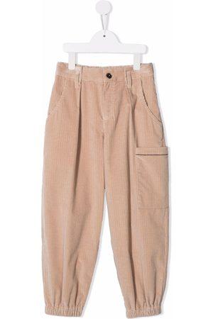 Brunello Cucinelli Niña Pantalones y Leggings - Pantalones de pana anchos