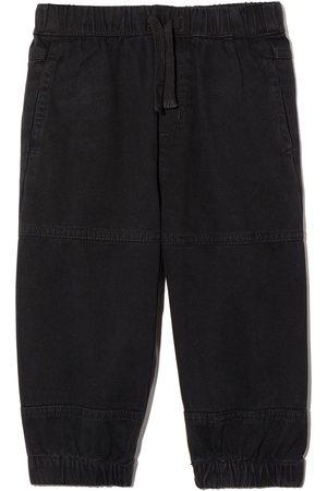 Stella McCartney Pantalones cargo con cordones en la pretina
