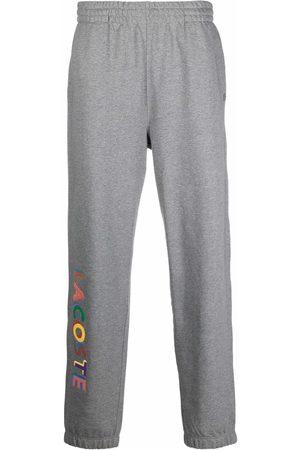 Lacoste Pantalones de chándal con logo estampado
