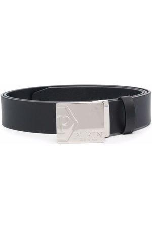 Philipp Plein Hombre Cinturones - Cinturón con placa del logo