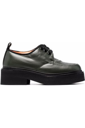 Marni Lace-up leather loafers