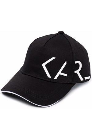 Karl Lagerfeld Niño Gorras - Gorra con logo lateral estampado