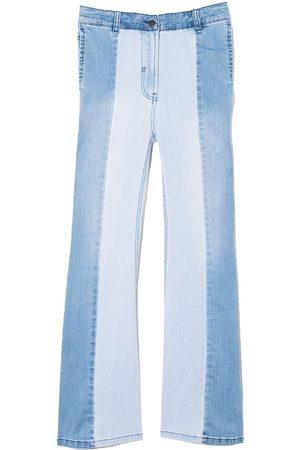 Stella McCartney Jeans con paneles de dos tonos