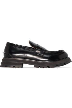 Alexander McQueen Hombre Mocasines - Lug-sole penny loafers