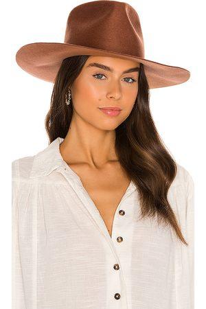 Janessa Leone Sombrero willa en color óxido talla L en - Rust. Talla L (también en M, S).