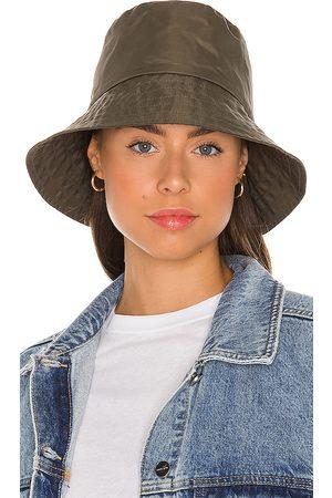 Janessa Leone Mujer Sombreros - Sombrero pesca franklin en color militar talla L en - Army. Talla L (también en M, S).