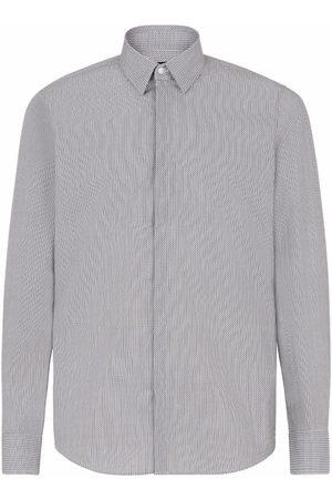 Fendi Hombre Camisas - FF-pattern cotton shirt
