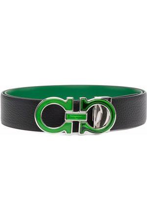Salvatore Ferragamo Hombre Cinturones - Cinturón con placa del logo