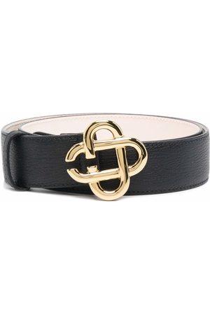 Casablanca Hombre Cinturones - Cinturón con placa del logo