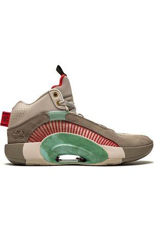 Jordan Tenis Air 35 Warrior Jade de Nike x CLOT