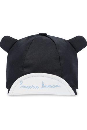 Emporio Armani Gorra de algodón