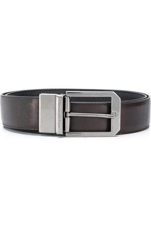 Ermenegildo Zegna Hombre Cinturones - Cinturón con hebilla cuadrada