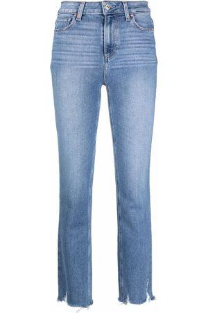 Paige Jeans rectos con tiro medio