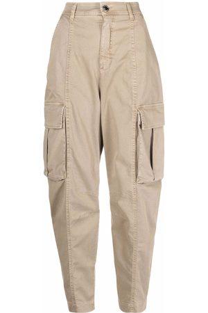 Pinko Pantalones cargo con tiro alto
