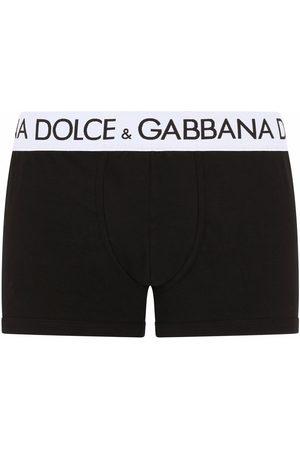 Dolce & Gabbana Ropa interior stretch con logo en la pretina