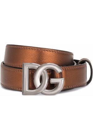 Dolce & Gabbana Cinturón con hebilla DG