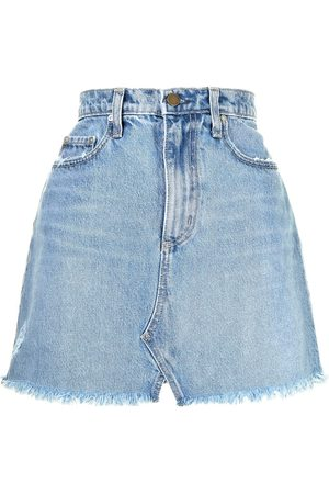 NOBODY DENIM Mujer Minifaldas - Minifalda de mezclilla Piper