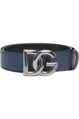 Dolce & Gabbana Cinturón con hebilla con logo DG
