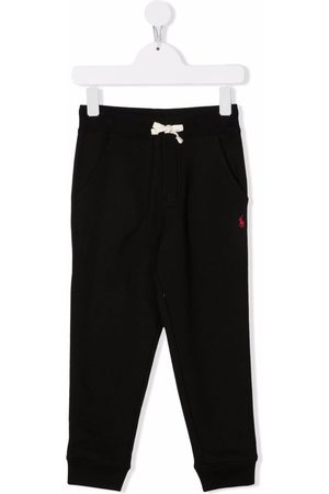 Ralph Lauren Kids Embroidered-logo track trousers
