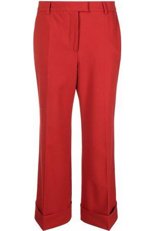 ALBERTO BIANI Tailored cropped trousers