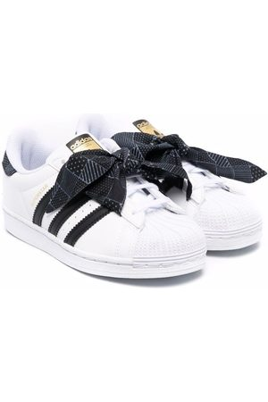 adidas Superstar scarf-detailed trainers
