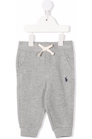 Ralph Lauren Leggings y treggings - Embroidered logo drawstring trousers