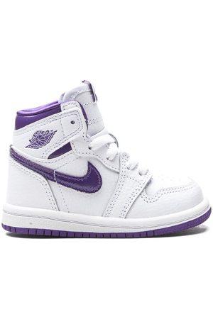Jordan Kids Tenis Air Jordan 1 Retro High TD Court Purple