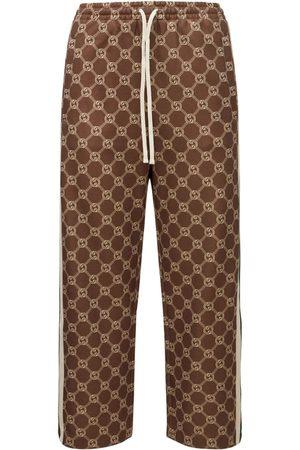 Gucci Mujer Pantalones y Leggings - Pantalones De Jersey Técnico Con Logo
