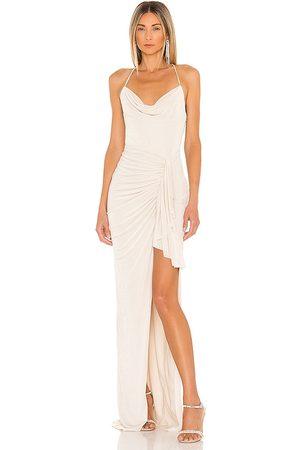 Katie May Vestido so juicy en color crema talla L en - Cream. Talla L (también en M, S, XS).