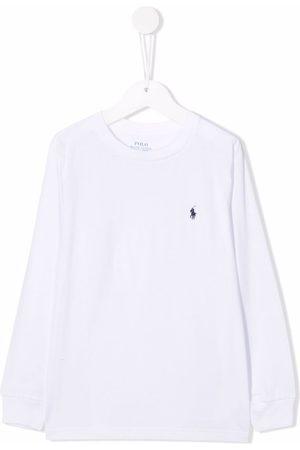 Ralph Lauren Embroidered-logo round neck T-shirt