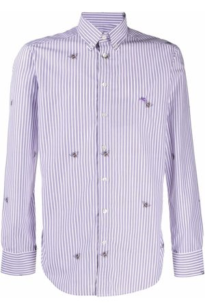 Etro Camisa con abejas estampadas