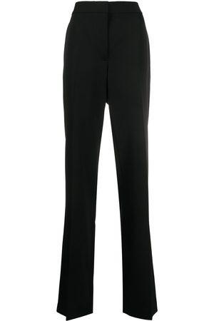 Stella McCartney Pantalones de vestir con tiro alto