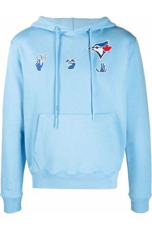 OFF-WHITE Sudadera con capucha Blue Jays de x MBL