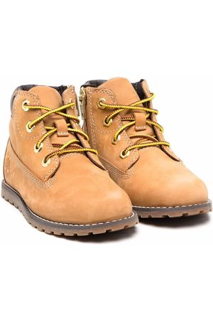Timberland Lace-up leather boots