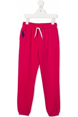 Ralph Lauren Pantalones de chándal con logo bordado