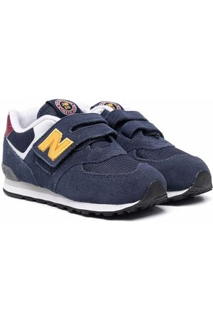 New Balance Touch-strap suede trainers