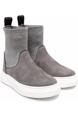 MONTELPARE TRADITION Sock-style ankle boots