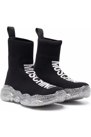 Moschino Sock-style ankle-length sneakers