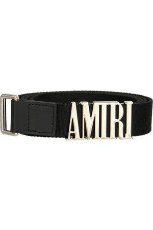 AMIRI Hombre Cinturones - Cinturón Webbing Con Logo 3cm
