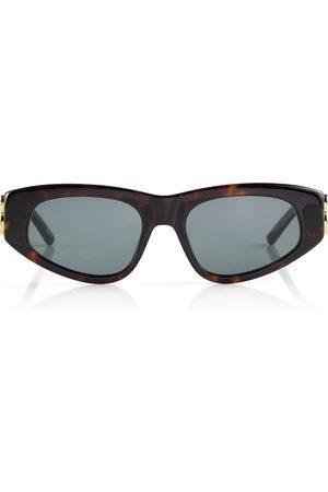 Balenciaga Gafas de sol de carey ovaladas
