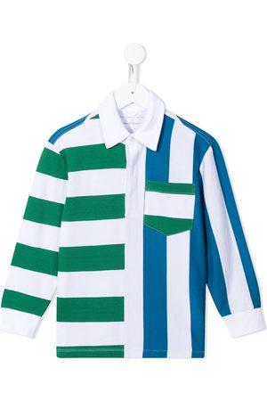 Stella McCartney Camisa a rayas de manga larga