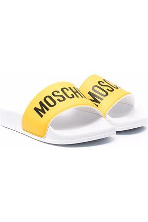 Moschino Logo-print slides