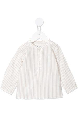 BONPOINT Camisas - Collarless button-up shirt