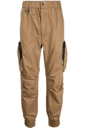 izzue Hombre Cargo - Pantalones rectos estilo cargo con logo