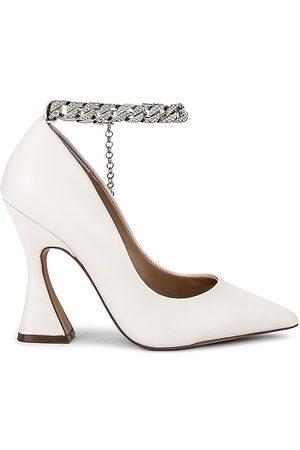 Steve Madden Bomba zippy en color blanco talla 10 en - White. Talla 10 (también en 6, 6.5, 7, 7.5, 8, 8.5, 9, 9.5).