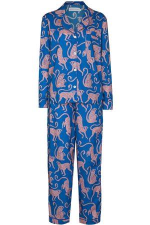 Desmond & Dempsey Mujer Conjuntos de lencería - Pijama con estampado Chango