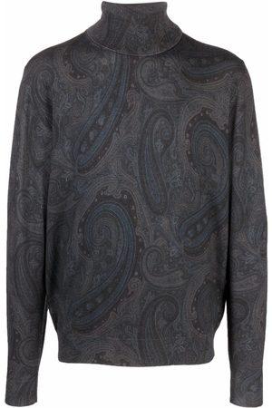 Etro Hombre Suéteres - Suéter con estampado de cachemira