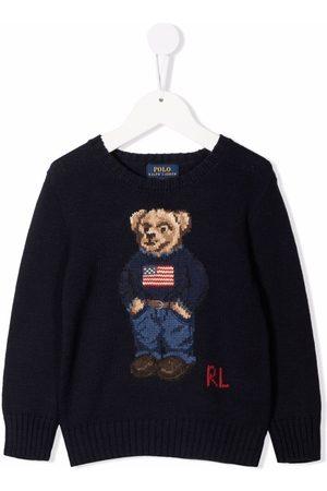 Ralph Lauren Niño Suéteres - Jersey con motivo Teddy Bear