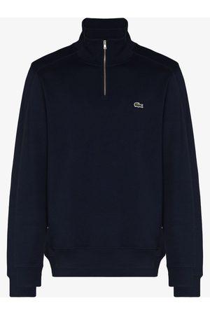 Lacoste Hombre Sudaderas - Logo-embroidered high-neck sweatshirt